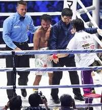 比嘉大吾、初黒星 連続KO勝利記録止まる ボクシングWBCフライ級タイトルマッチ
