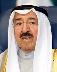 サバハ・アハマド・ジャビル・サバハ首長=2014年3月、クウェート(ロイター=共同)