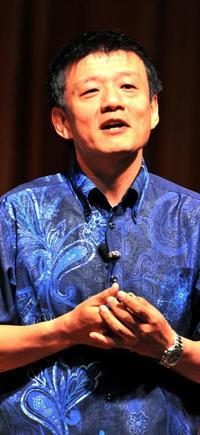 「刀」代表の森岡毅氏が講演 「マーケティングの力で、沖縄を日本の『至宝』に」
