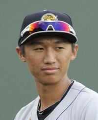 加藤内野手(AP=共同)