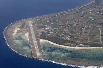 (資料写真)久米島空港