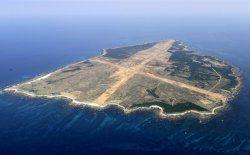 鹿児島県西之表市の馬毛島=2010年3月(共同通信)