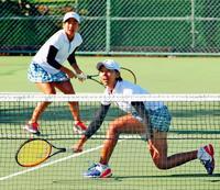 <いわて国体>テニス少年女子、4強入り