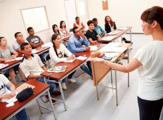 ICLCの授業風景(提供)