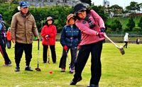 新春の交流大会 豊見城で楽しむ/グラウンドゴルフ