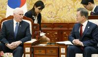 米韓「最大限の圧力」確認 北朝鮮けん制、温度差も