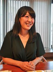 「沖縄を健康長寿県に復活させたい」と話す真栄平章子さん=東京・三番町の「命の食事」事務局