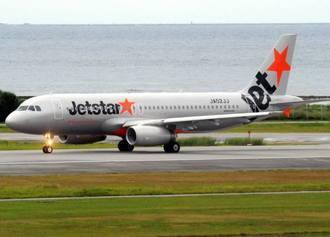 (資料写真)ジェットスターの旅客機