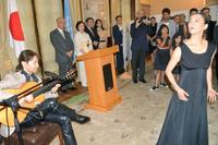 在米日本人芸術家が「平和」発信 日本の国連大使公邸で、最終回