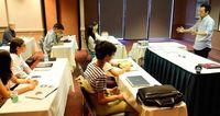 ビジネス案発表 琉球フロッグス米研修最終日