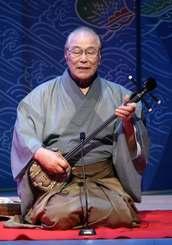 人間国宝島袋正雄85歳に歌う「音の真理」 =国立劇場おきなわ