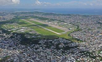 (資料写真)米軍普天間飛行場=沖縄県宜野湾市