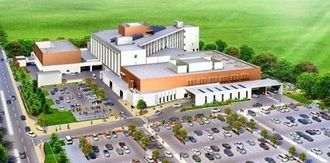 新県立八重山病院の完成予想図(県ホームページから転載)