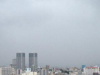 沖縄本島は雨交じりの1日でした