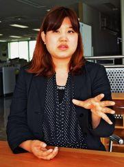 「防災には女性の視点が必要」と訴える相馬直子さん