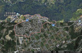 南城市つきしろ(グーグルマップから)