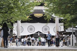 靖国神社=東京・九段北