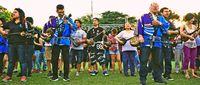 宮沢和史さん&大城クラウディアさんも来た! 移民110周年、アルゼンチンで沖縄祭り