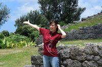 沖縄の世界遺産「勝連城跡」、もっと知って! 福田沙紀さん主演映画で魅力PRへ