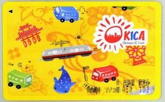 これまでのOKICAカードのデザイン