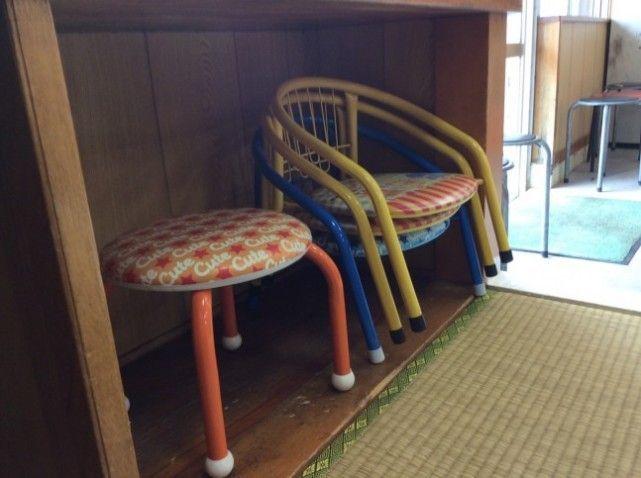 小さい子供用のいすもあります。