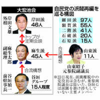 「ポスト安倍」利害交錯 自民党の派閥再編を巡る構図【深掘り】