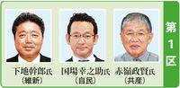 【2017衆院選10・22】沖縄1区序盤情勢調査