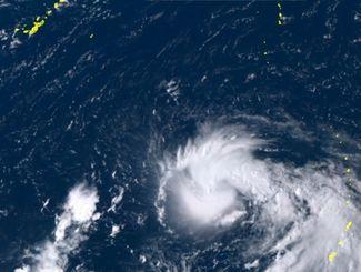 22日午後2時30分現在の衛星画像(ひまわり8号リアルタイムweb)
