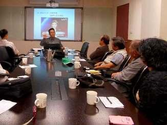 台湾、中国と沖縄の関係などについて学んだ「台湾を学ぶ会」メンバー=台湾