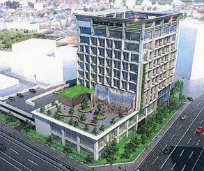 新JA会館の完成イメージ図