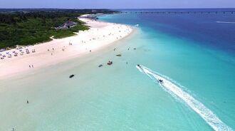 (資料写真)沖縄のリゾート地