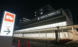 4月に開院する藤田医科大岡崎医療センター=17日、愛知県岡崎市
