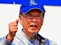 日本の独立は神話だ 翁長知事、オスプレイ飛行再開を批判