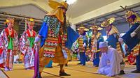 「八月踊り」多彩に 沖縄・多良間村 島最大の行事