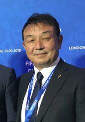 日本サッカー協会の小野剛・技術委員会副委員長