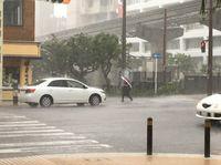 沖縄県東村に洪水警報 沖縄市・久米島町に大雨警報
