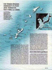 沖縄の歴史や文化、自然について詳しく紹介したフランスの月刊誌