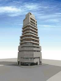 那覇で珍しいバルコニー付き広々客室 2020年、久米に14階建て新ホテル開業へ