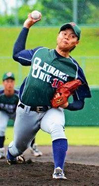 九州大学野球:沖大山城、1失点完投