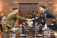 南北、軍通信の復旧で合意 将官級会談、成果乏しく不満も