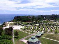 台風8号:平和祈念公園、10日は臨時閉園