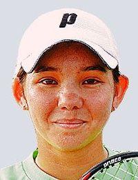 リュー理沙マリー選手、全米大学ベスト8 女子テニスダブルス
