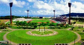 県総合運動公園陸上競技場(沖縄県HPから転載)