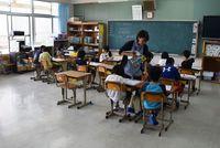 児童の成長、育む挑戦 中城村の15人学級