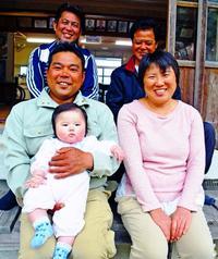 人口14人の集落に47年ぶり赤ちゃん 沖縄・大宜味 誕生祝う花火祭りも!