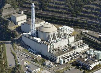 日本原子力研究開発機構の高速増殖原型炉もんじゅ=2020年10月20日、福井県敦賀市