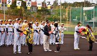 阪神キャンプ 熱烈歓迎 宜野座