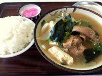 沖縄市のたかみ食堂でテビチ汁を食べたの巻 運転手メシ(204)