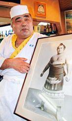 飲食店を営んでいたころの神田武光さん=2010年・東京都台東区
