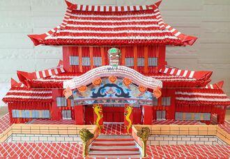 伊波盛吉さんが作った首里城
